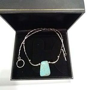 Turqouise  stone necklace